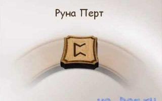 Сакральное значение и описание руны Перт (Перто) в гадании и магии