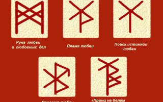 Рунический приворот: мощные формулы на разные случаи жизни и как они помогают
