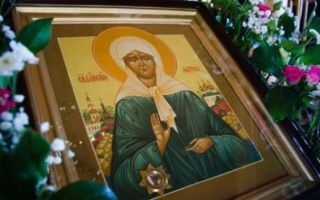 Молитва святой Матроне Московской о помощи в работе