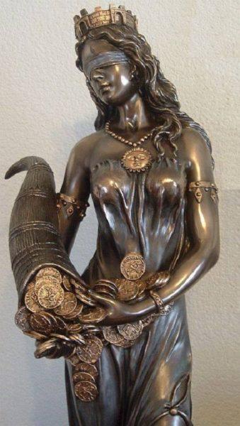 статуя фортуны