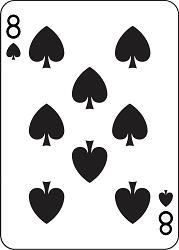 восьмерка карта