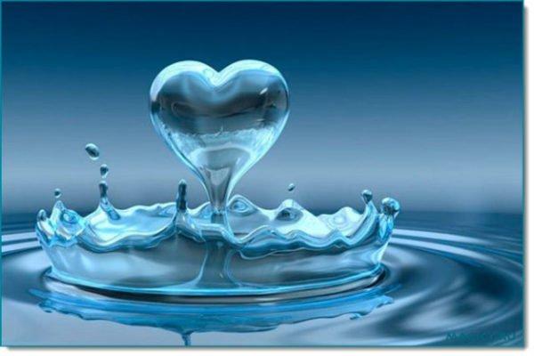приворот с помощью воды