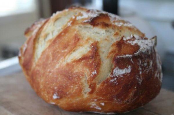 уже готовый хлеб от магии