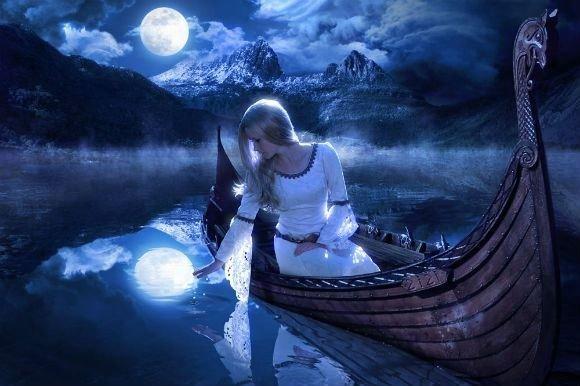 Заговор при полной луне