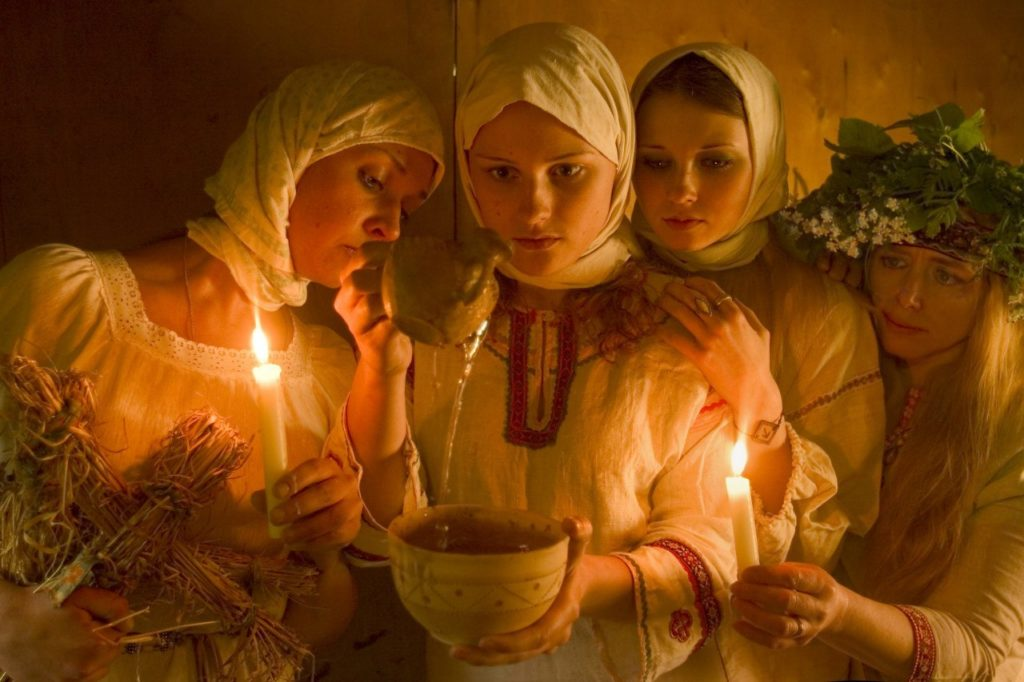 заговор со свечами
