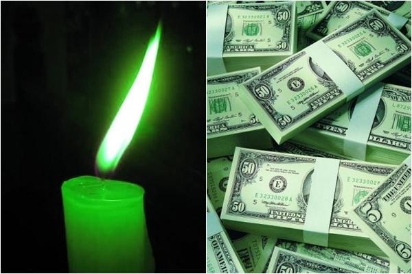 свечка и баксы