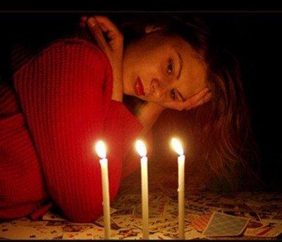 Грусть при свечах