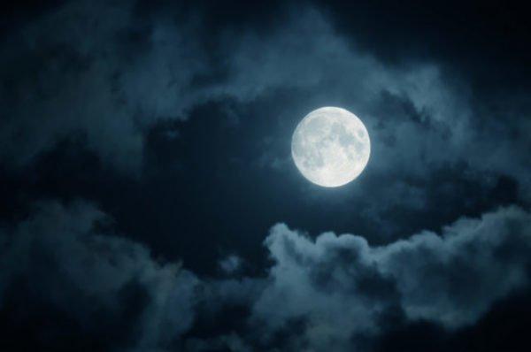 полная луна и ворожба