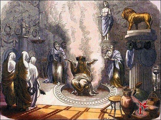 Оракулы в древнем египте