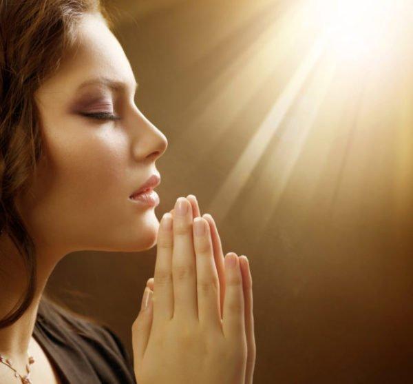 прошеплать молитву