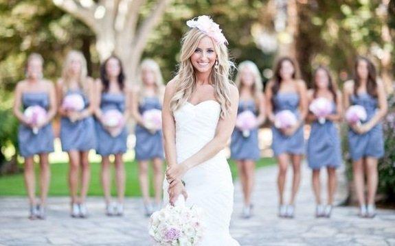 свадебное платье со стороны