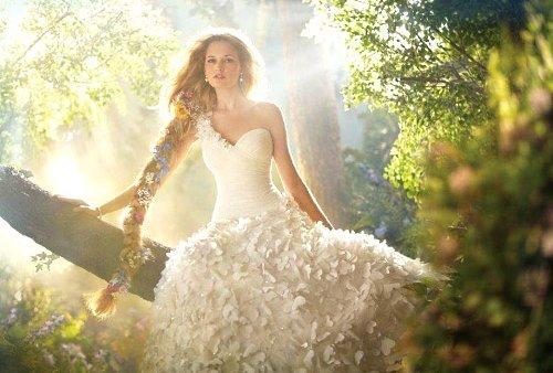 в свадебном платье во сне