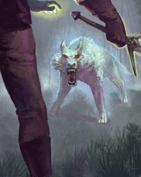 борьба с монстром