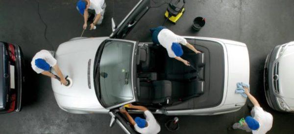 очистка машины