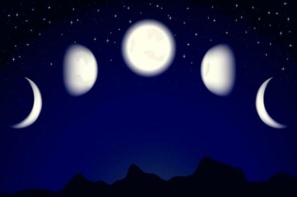 нарастающая луна