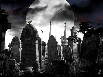 кладбищенский ритуал