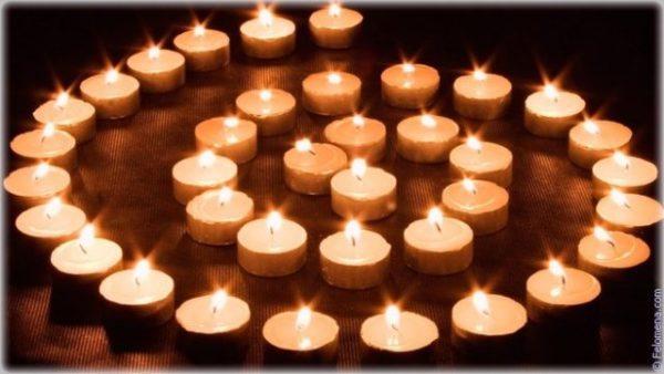 символ из свечей