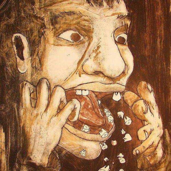 кошмар с выпадающими зубами