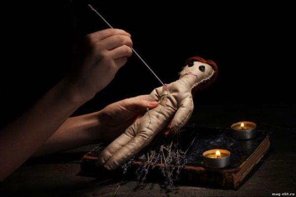 кукла Вуду на смерть