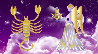 скорпион и дева