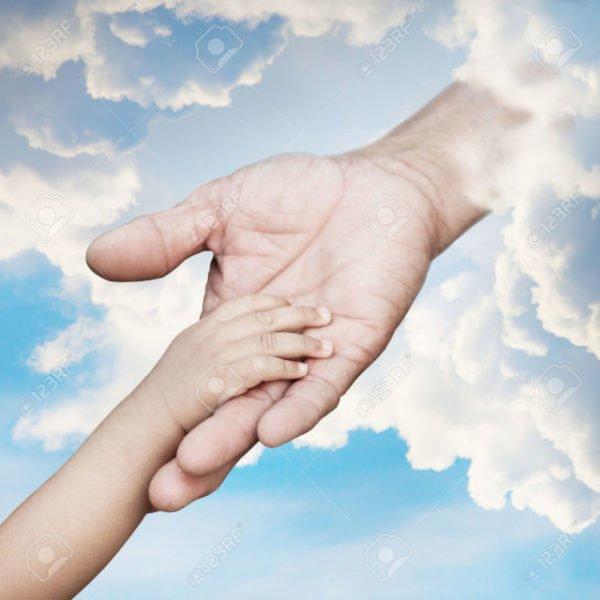 ребенок в руках Бога