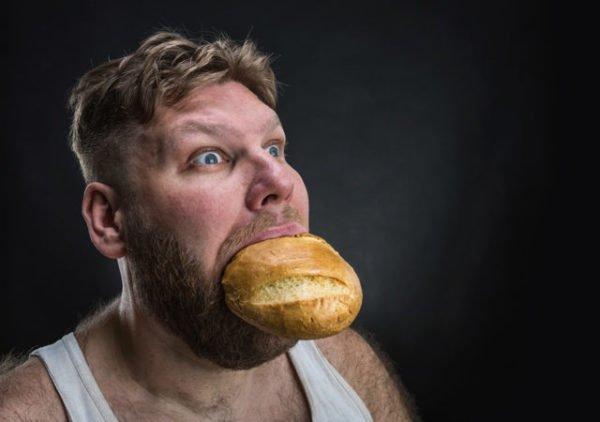 отворот на хлеб