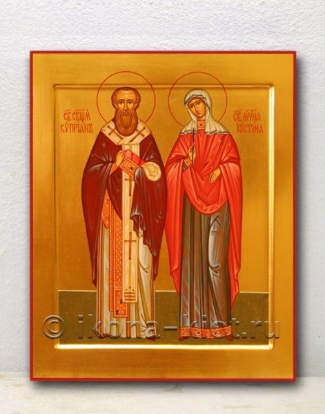 Икона Киприану и Иустинии