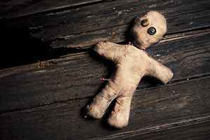 How to make a voodoo doll on a man with his own hands at home