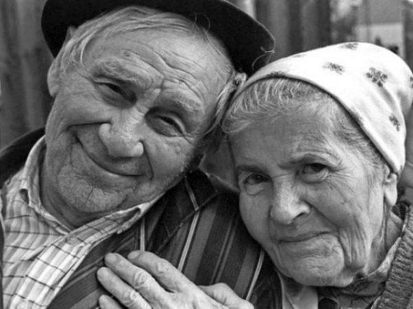 покойные бабушка и дедушка