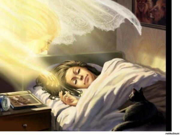 родной зовет за собой во сне
