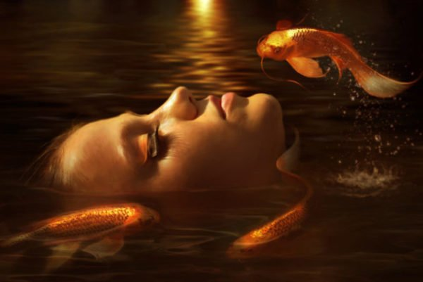 снится золотая рыбка