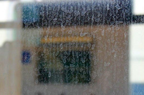 грязное окно