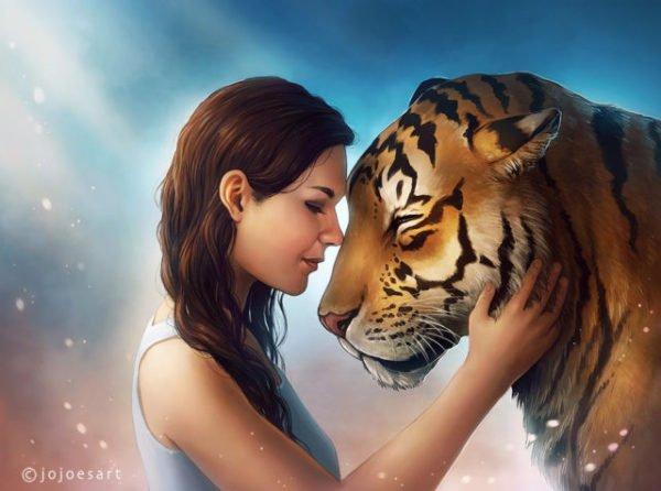 снится тигр женщине