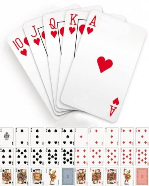 Как гадать на игральных картах Способы гадания на игральных картах