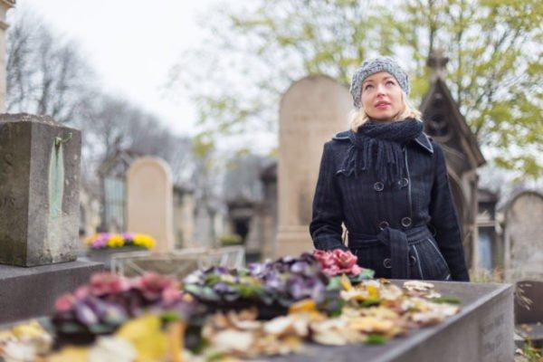 проведать могилы родственников
