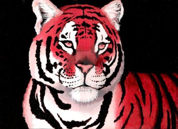 приснился красный тигр