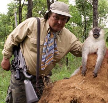 приснилась охота на обезьян