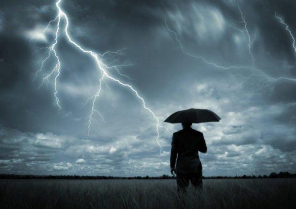 к чему снится гулять в непогоду
